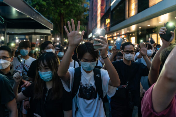 UK Urges Beijing to 'Step Back From the Brink' as Regime Tightens Grip on Hong Kong