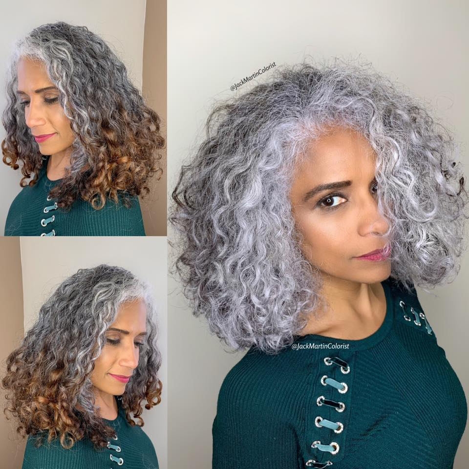 Celebrity Hairdresser Jack Martin's Gorgeous Gray-Root Makeovers Empower Clients