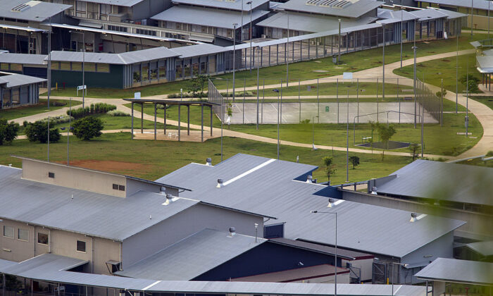 A view of the Immigration Detention Center, February 29, 2012 on Christmas Island, Australia.  (Paula Bronstein/Getty Images)