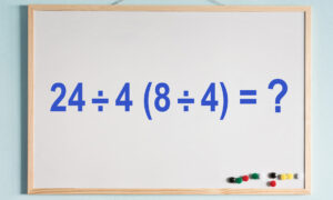 There Are Several Solutions for This Tricky Math Problem–Can You Get the Correct Answer?