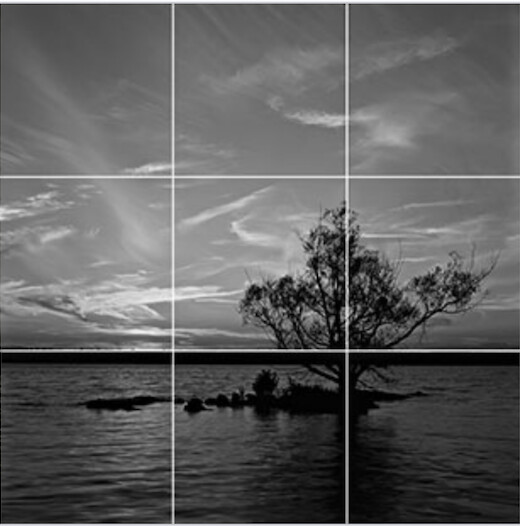 rules of thirds-grid