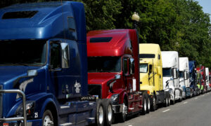 Ohio State Police 'Aware and Monitoring' Possible Truck Protests Against Vaccine Mandates