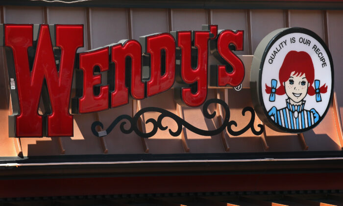 Logo signage is displayed at a Wendy's restaurant on June 13, 2011 in Chicago, Ill. (Scott Olson/Getty Images)