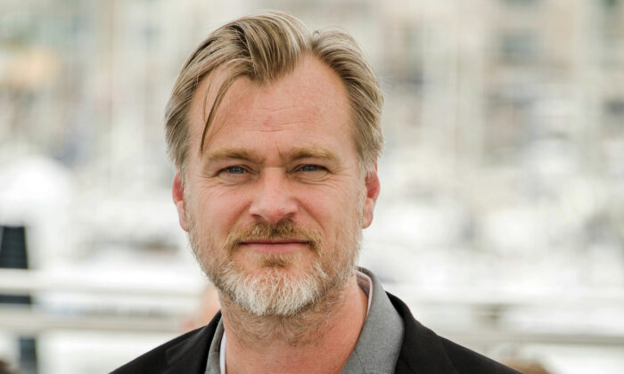 Director Christopher Nolan at the 71st international film festival, Cannes, southern France, on May 12, 2018. (Arthur Mola/Invision/AP)