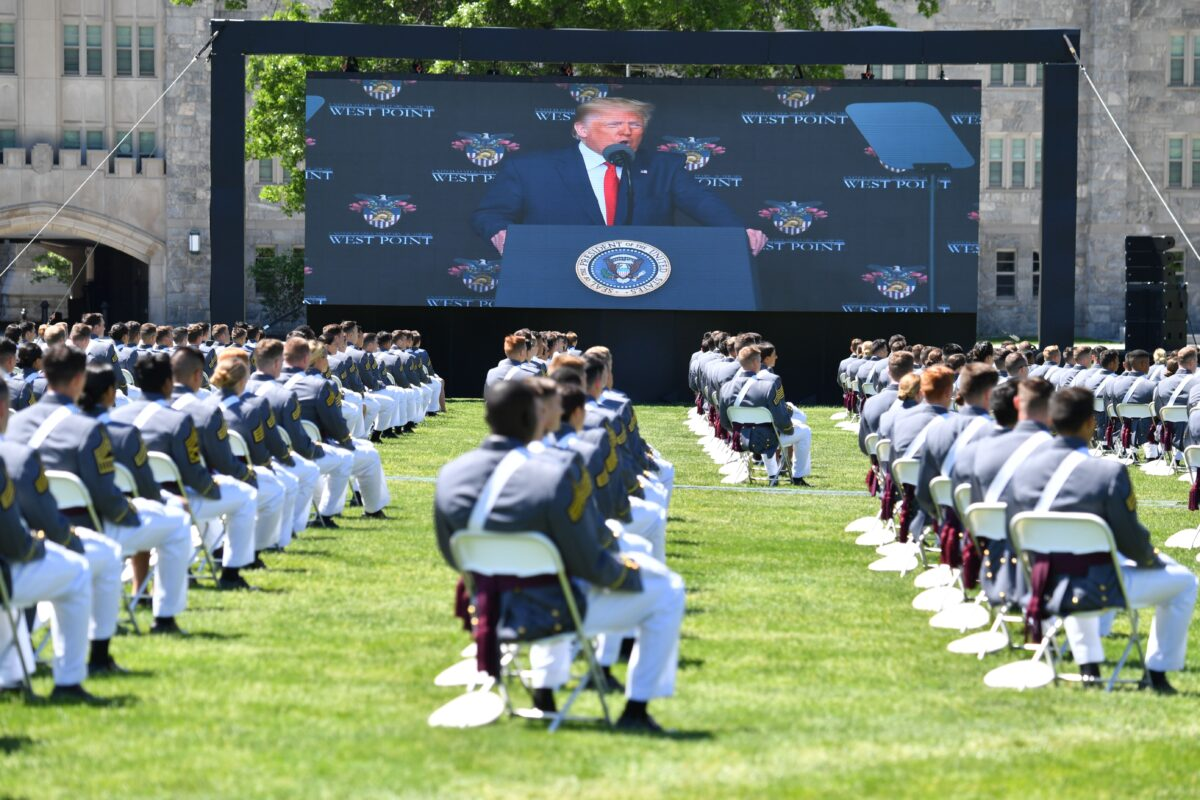 President Trump addresses West Point graduating class