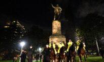 Sydney's Captain Cook Statue Defaced