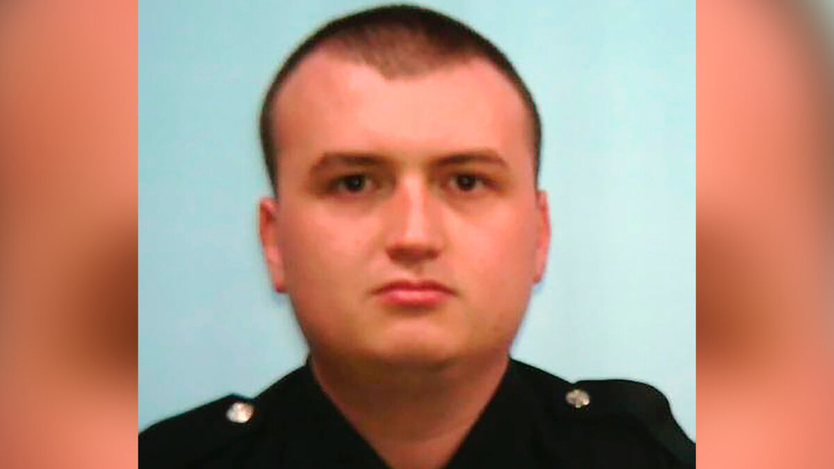 Officer Devin Brosnan in a file photo