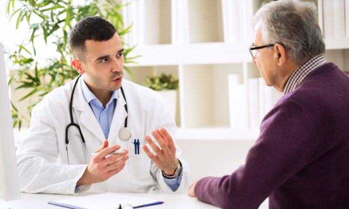 Research has found doctors interupt patients after listening for an average of 11 seconds, a symptom of a health care system focused on treating diseases rather than people.  (didesign021/Shutterstock)