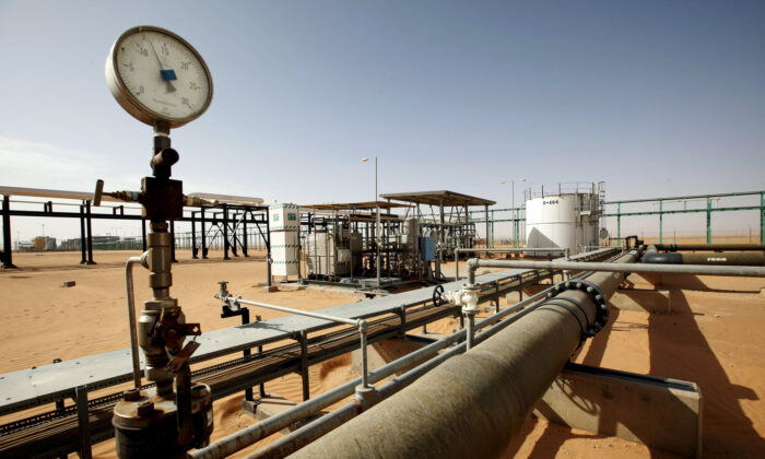 A general view of the El Sharara oilfield, Libya, on Dec. 3, 2014. (Ismail Zitouny/Reuters/File Photo)