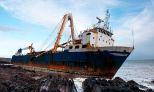 250-Foot-Long 'Ghost Ship' Washes Up on Irish Coast, Owners Remain Untraced