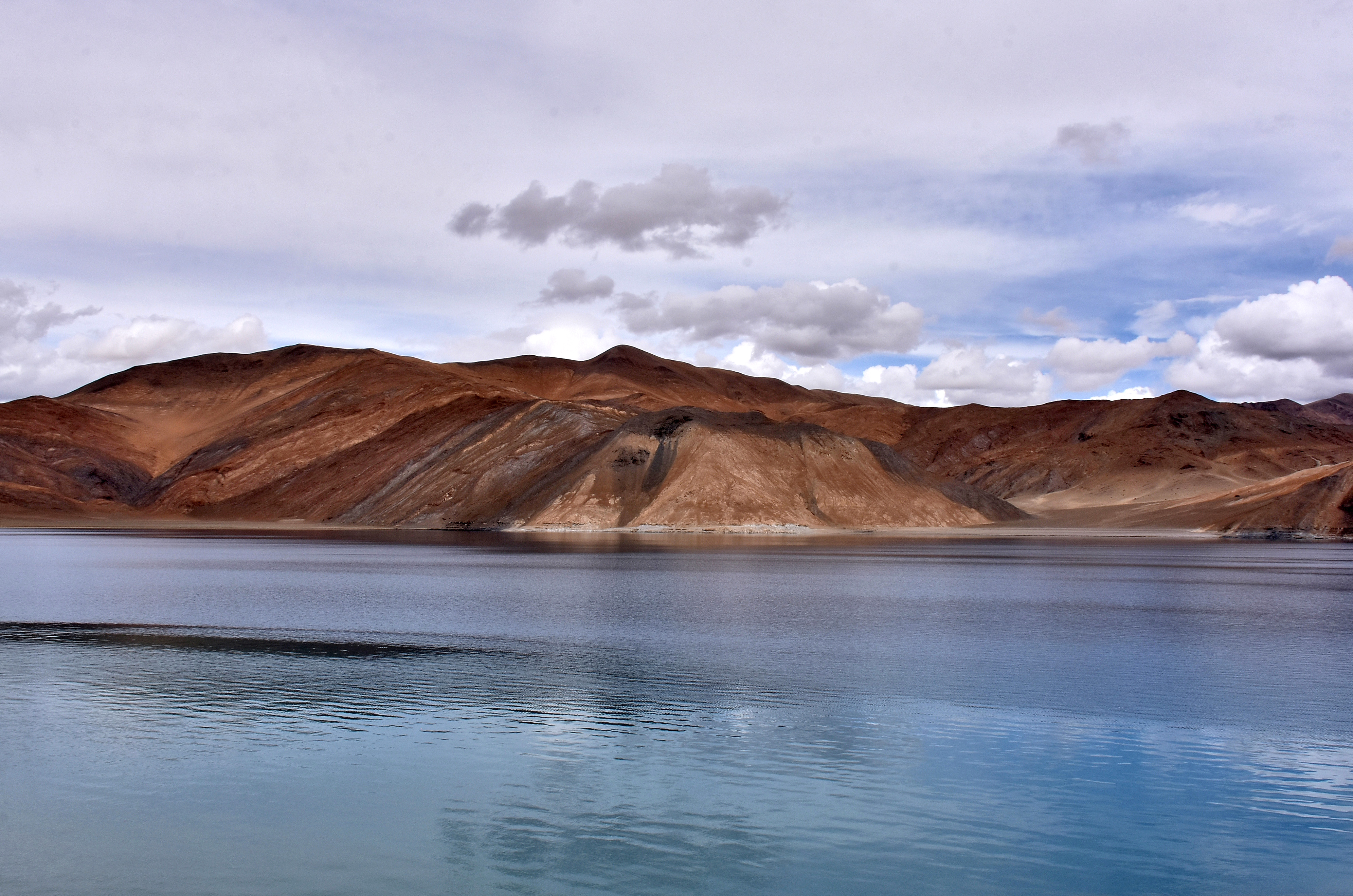 Pangong Tso lake in Ladakh region
