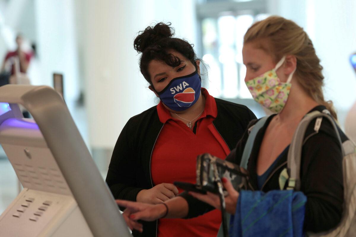 Southwest Airlines Masks