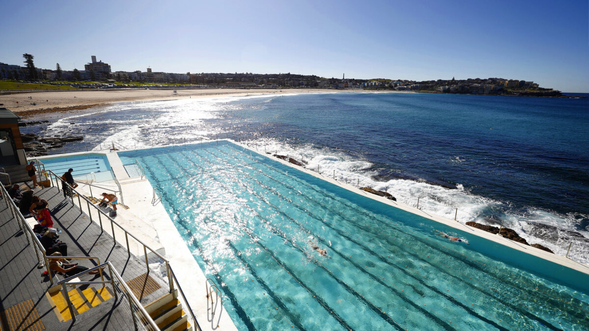 Sydney's Iconic Bondi Icebergs Pool Reopens Following Coronavirus Shut Down