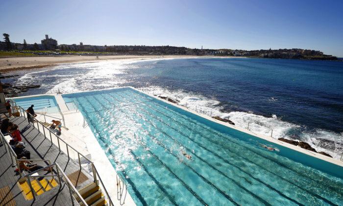 Bondi Icebergs on June 16 in Sydney, Australia. (Ryan Pierse/Getty Images)