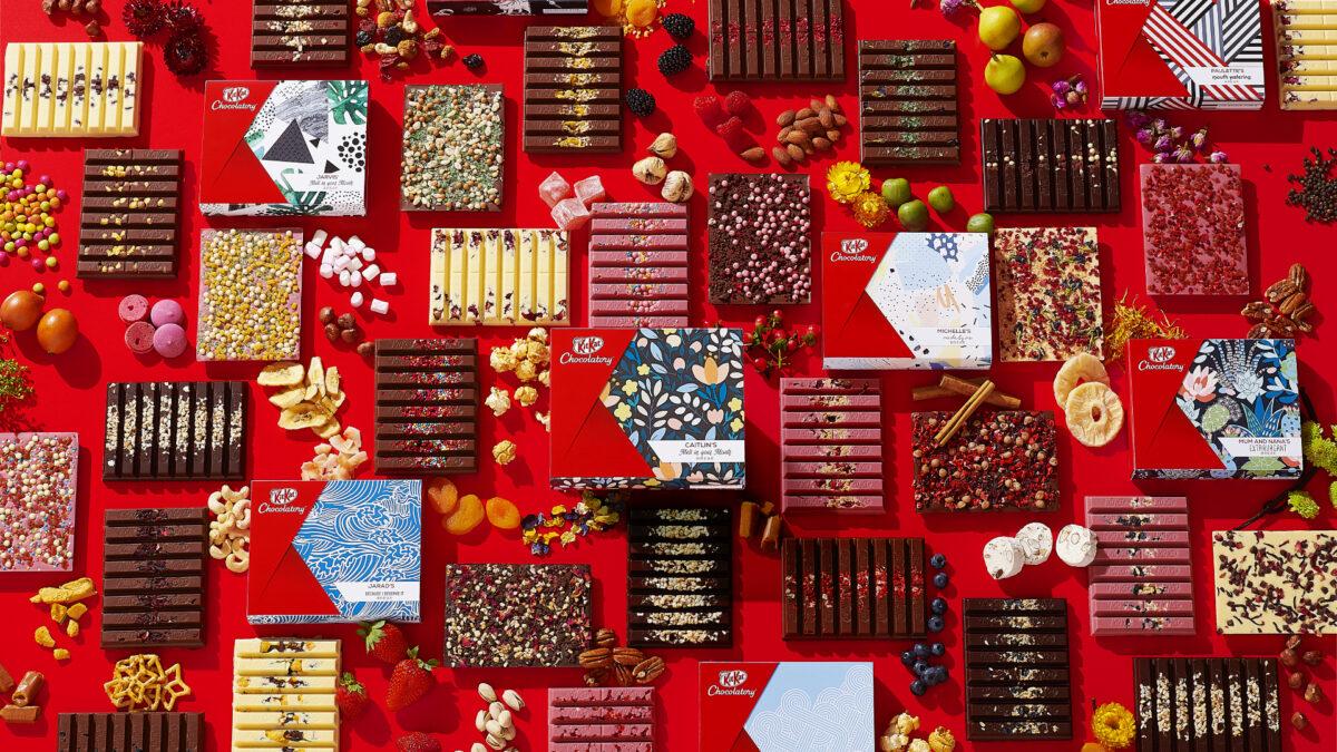 KitKat chocolatory sydney boutique media