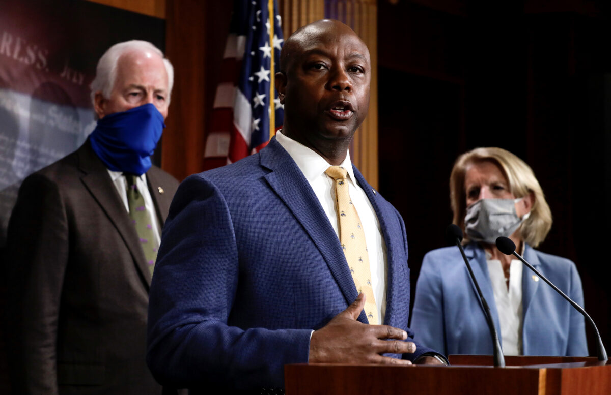 GOP's police reform bill leverages funding to 'compel' change: Sen. Tim Scott