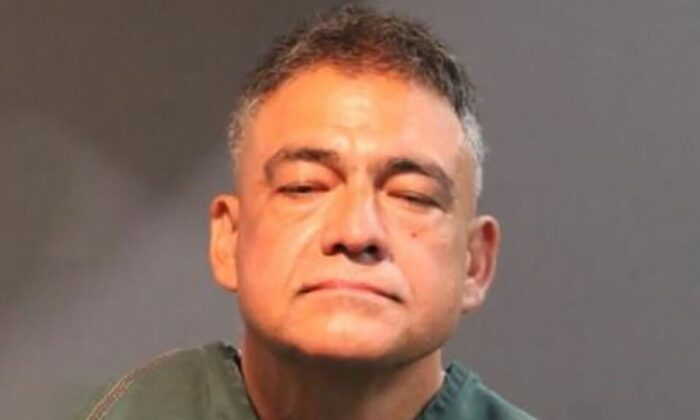 Sergio Magana Arechiga has a lengthy criminal history, say police. (Santa Ana Police Department)