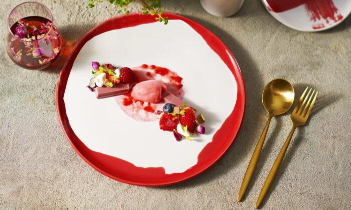 Dessert Ruby Garden from Kitkat's dessert selection (Supplied)