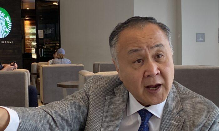 Elmer Yuen in Washington on June 12, 2020. (Sean Lin/Sound of Hope)