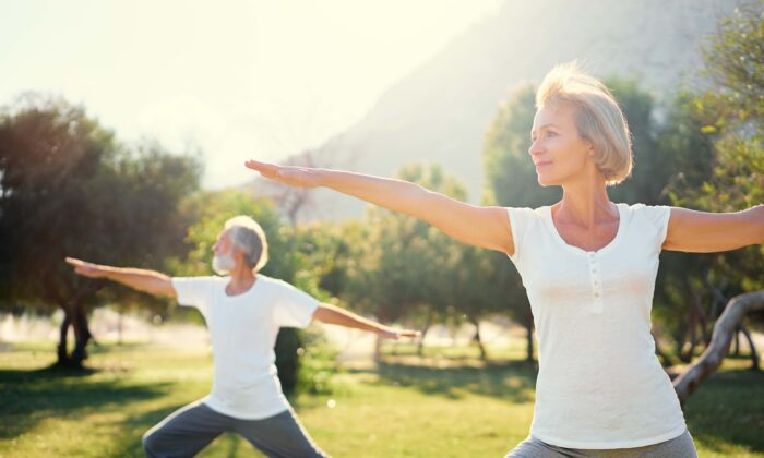 Dance, yoga, and Tai Chi are gentle forms of exercise that can improve bone health. (kudla/Shutterstock)