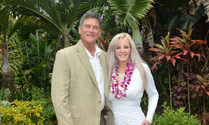 Dr. Lorrie Metzler-Szabo with her husband. (Courtesy of Dean Szabo)