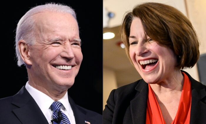 This combination of pictures created on March 2, 2020 shows