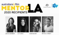 Four Australian Rising Stars to Be Mentored by Hollywood Creatives