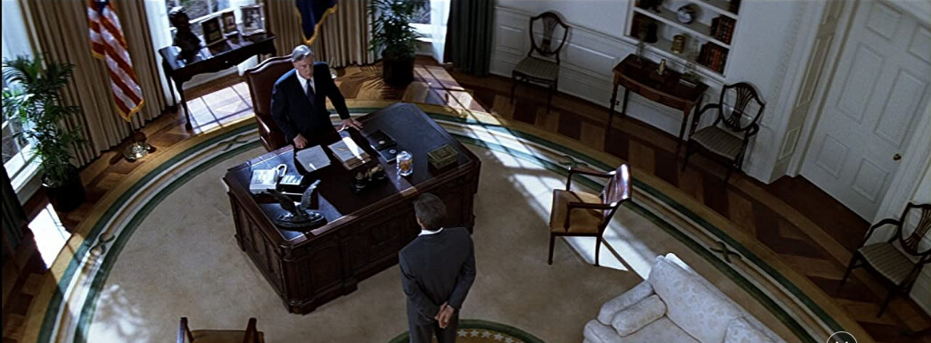"""POTUS and Jack Ryan in """"Clear and Present Danger"""""""