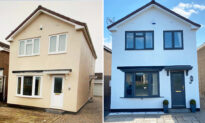 Woman Transforms Simple Cream-Colored House Into an Elegant One for Only $309, Stunning All