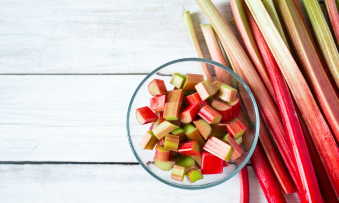 Rhubarb is the star of this zippy compote. (Diana Taliun/Shutterstock)