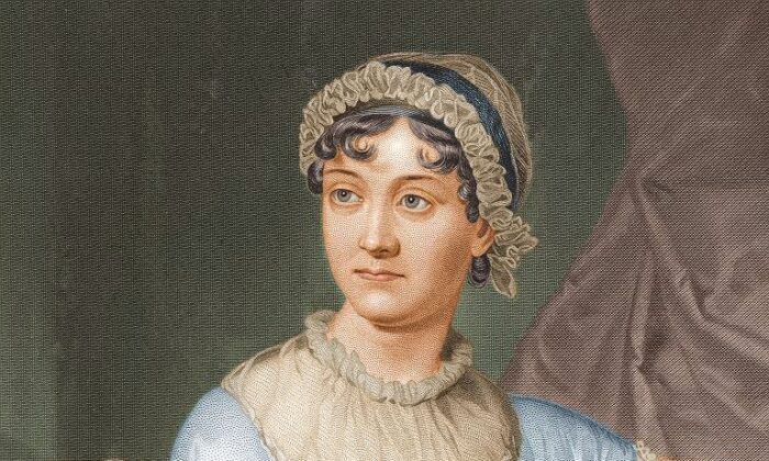 Portrait of Jane Austen, 1873, from the Portrait Gallery of the Perry–Castañeda Library of the University of Texas at Austin. (Public Domain)