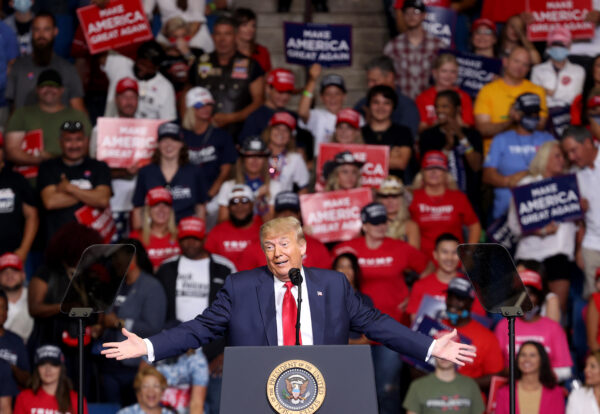 Trump Defends CCP Virus Testing Comment at Oklahoma Rally