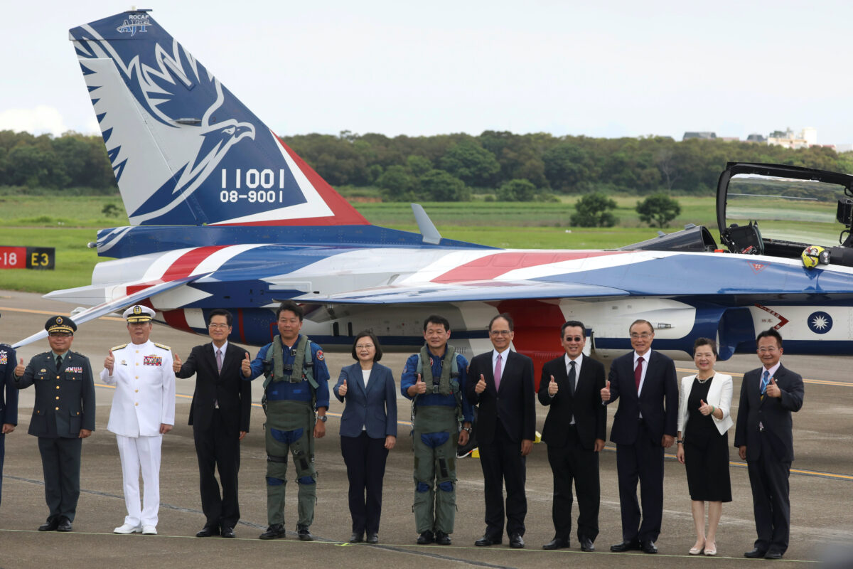 Taiwan's first locally manufactured advanced jet trainer
