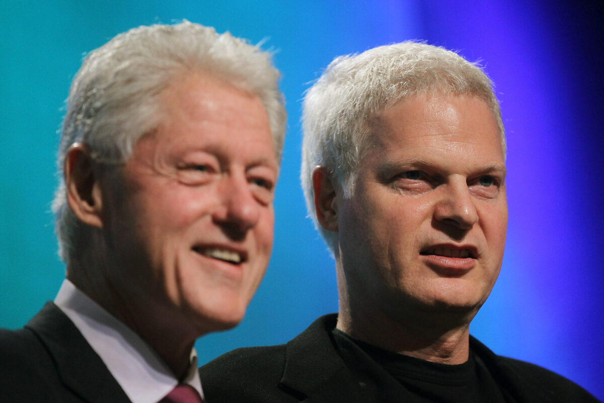 Steve Bing President Bill Clinton