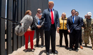 Trump Commemorates 200 Miles of New Border Wall