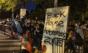 Protesters Attempt to Set Up 'Black House Autonomous Zone' Near White House