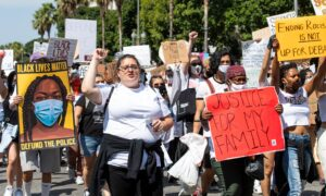 'Highly Likely' That COVID-19 Spike Linked to Protests, LA Health Official Says