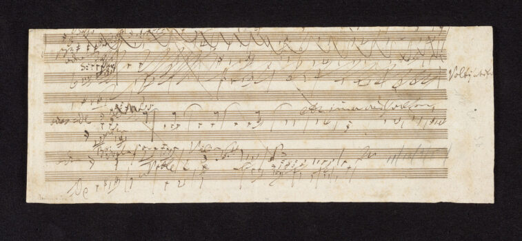 Beethoven notes