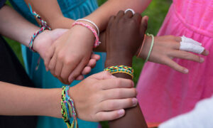 9-Year-Old and Her Friends Raised Nearly $100,000 Selling Bracelets to Help Black-Owned Businesses