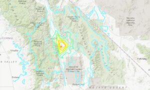 5.8 Magnitude Earthquake Hits California: USGS