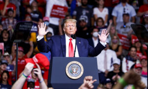 Trump Responds to BLM Organizer's Threat to 'Burn Down This System'