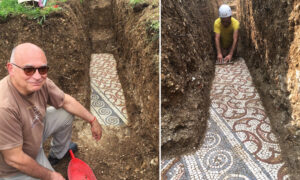 Archeologists Unearth Near-Pristine Roman Mosaic in Verona Dating Back to 3rd Century AD