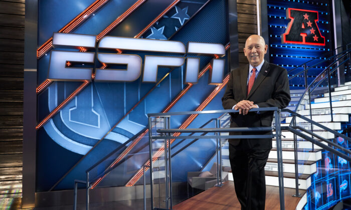 Bill Rasmussen is the founder of ESPN the world's first 24 hour seven days a week sports network. (Courtesy of ESPN)