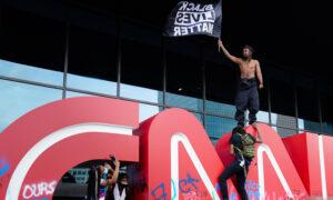 US Marshals Arrest Man Accused of Defacing CNN During Atlanta Riots