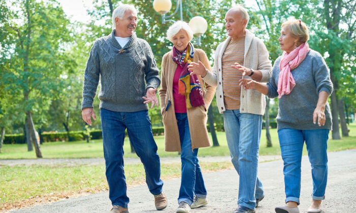 Maintaining a positive outlook and staying physically active are two measures that could slow or prevent the onset of Alzheimer's, a new study suggests. (SeventyFour/Shutterstock)