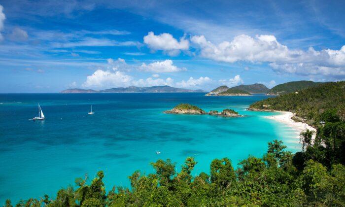 Trunk Bay, U.S. Virgin Islands. (Courtesy of U.S. Virgin Islands Department of Tourism)