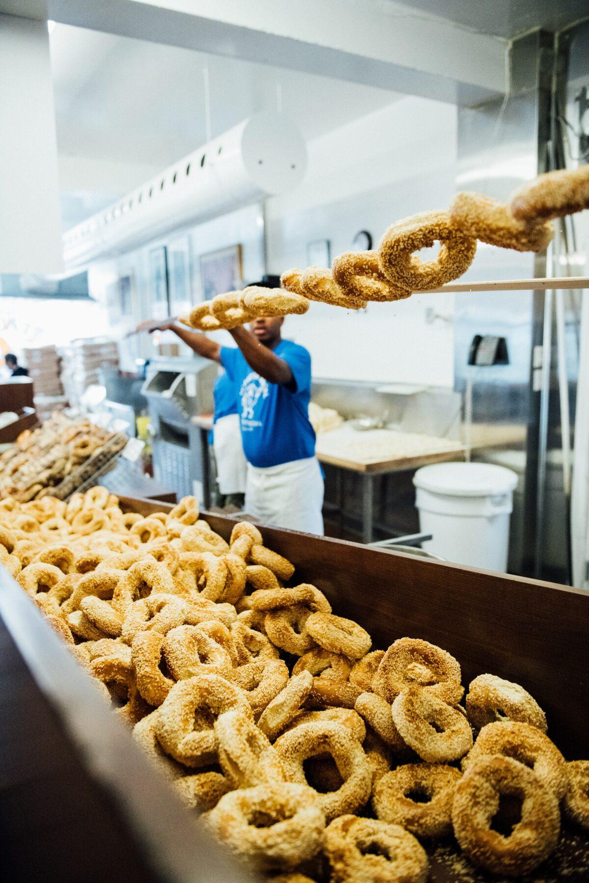 Montreal bagels.