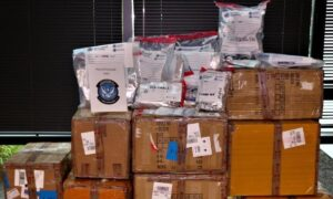 US Customs Seize Millions Worth of Illicit Narcotics and Assault Weapon Parts From China