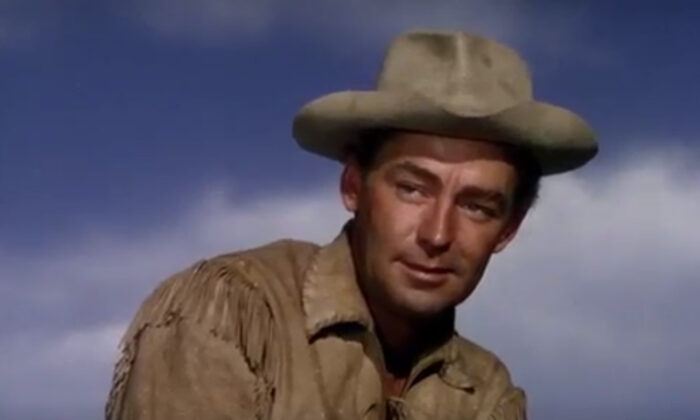 Alan Ladd as Shane, perhaps his finest role. (Paramount Pictures)