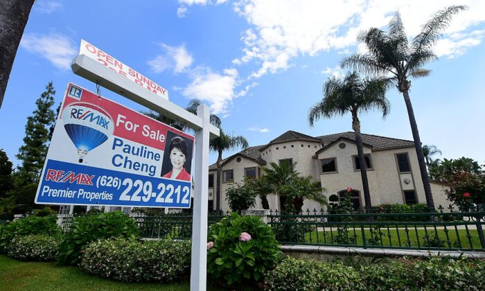 A property estimated at close to $4 million sits for sale in Arcadia, Calif., on May 17, 2016. (Frederic J. Brown/AFP via Getty Images)